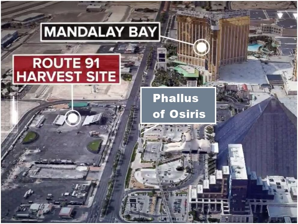 Las Vegas Slaughter – A Luciferian Blood Sacrifice To Osiris