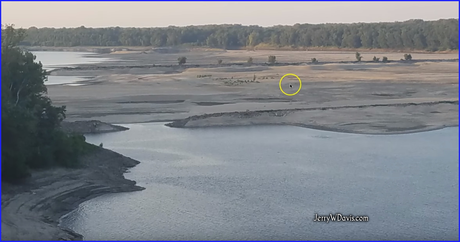 The Lord Is Speaking Loudly.  Who Has Ears To Hear?  Rev 12, Eclipses 7 Years Apart, Directly Over New Madrid Fault and the Mississippi River is Drying Up.